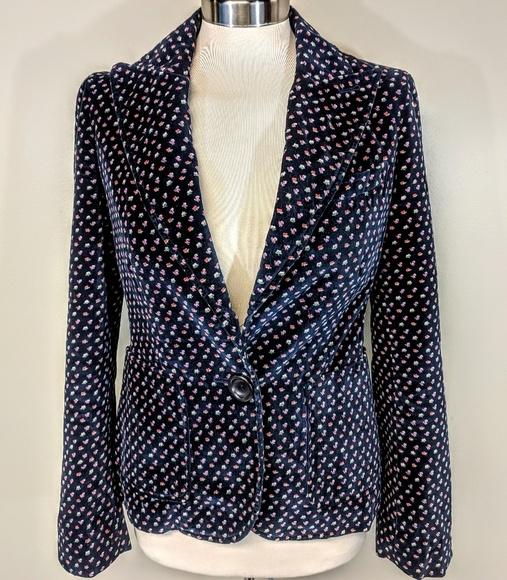 Marc Jacobs Jackets & Blazers - Marc Jacobs Floral Velvet Blazer